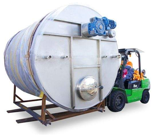 10,000L Storage Tank with Stirrer