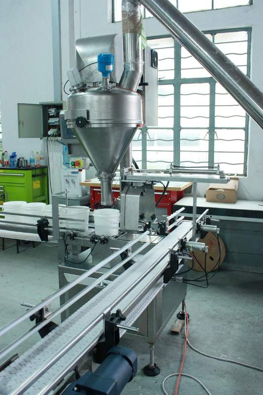 Weighmetric Servo Driven Auger Filler (with loadcell)