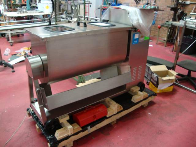 Single Paddle Mixer