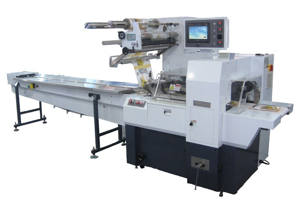 Horizontal Flow Wrapper (Electronic, Rotary Jaw)