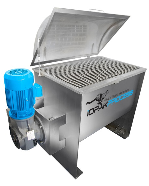 NEW s/s Double Helix Ribbon Blender (500L)