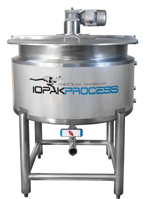 500 CRM Jacketed 500L Cooker Kettle (Contra Rotating) 316IOPAK Jacketed 500L Cooker Kettle (Scrape Sided) 316