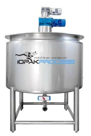 1000 Cooksys Cooking/Mixing Line (1000 L Cooker, In-Line Mill, Pump etc)Jacketed 2000L Cooker Kettle (Contra Rotating) 316