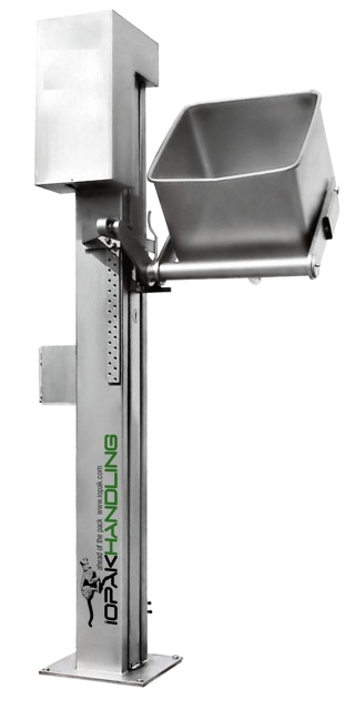 Fixed Bin Lifter with S/S Bin