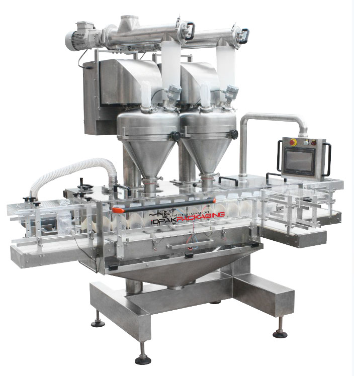Servo Driven Twin Auger Filler
