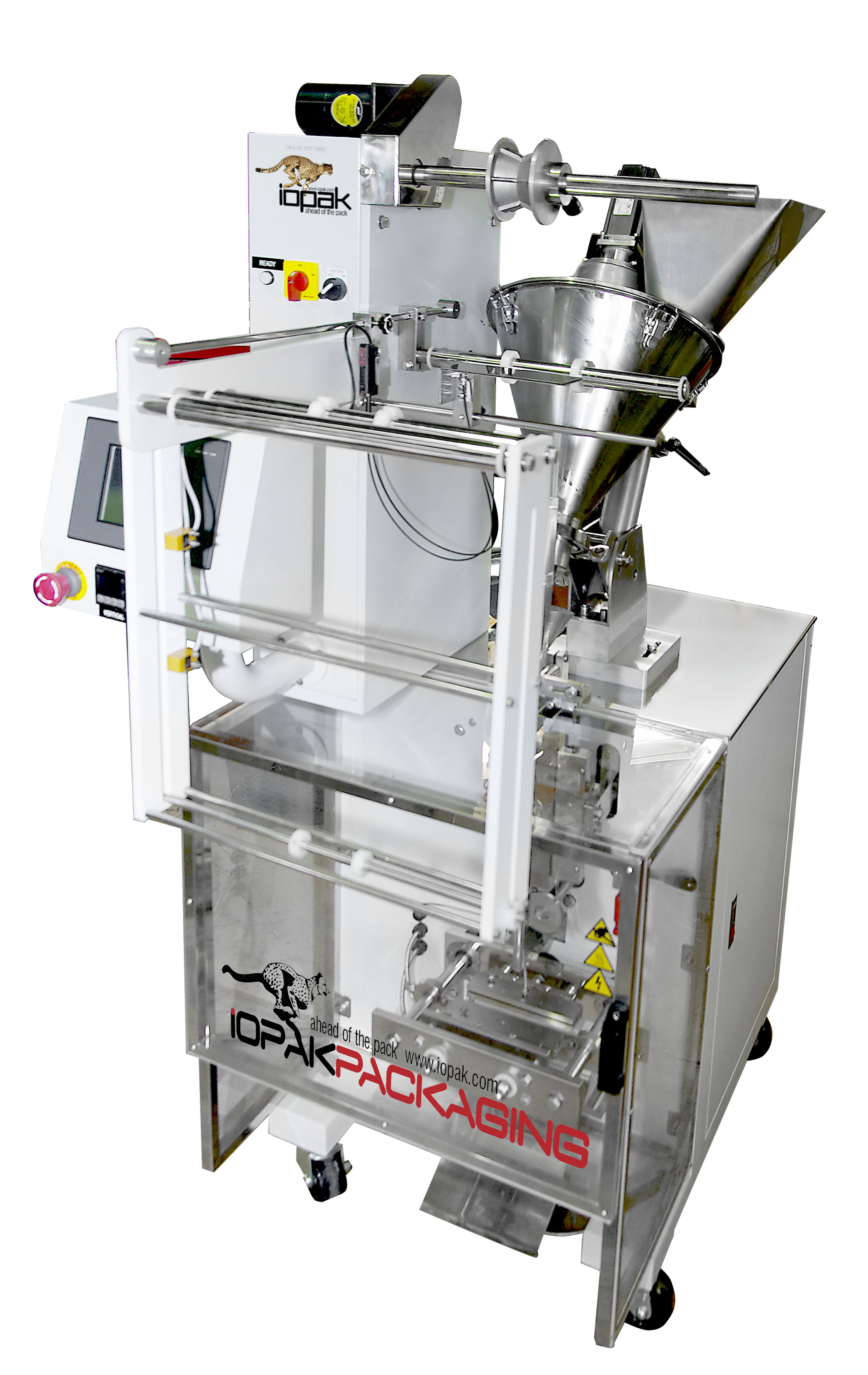 Sachet Packer with Auger Filler