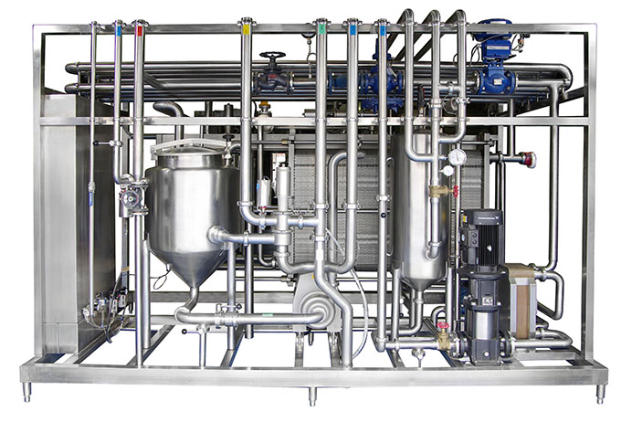Plate Type Continuous Pasteurising System