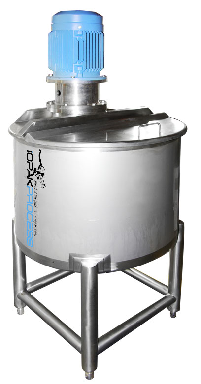 High Shear Batch Mixer with 250L Tank