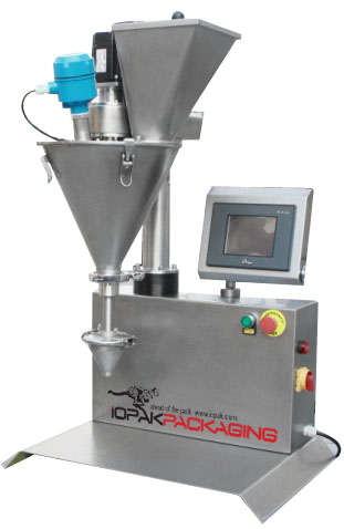Benchtop Semi Automatic Servo Driven Auger Filler