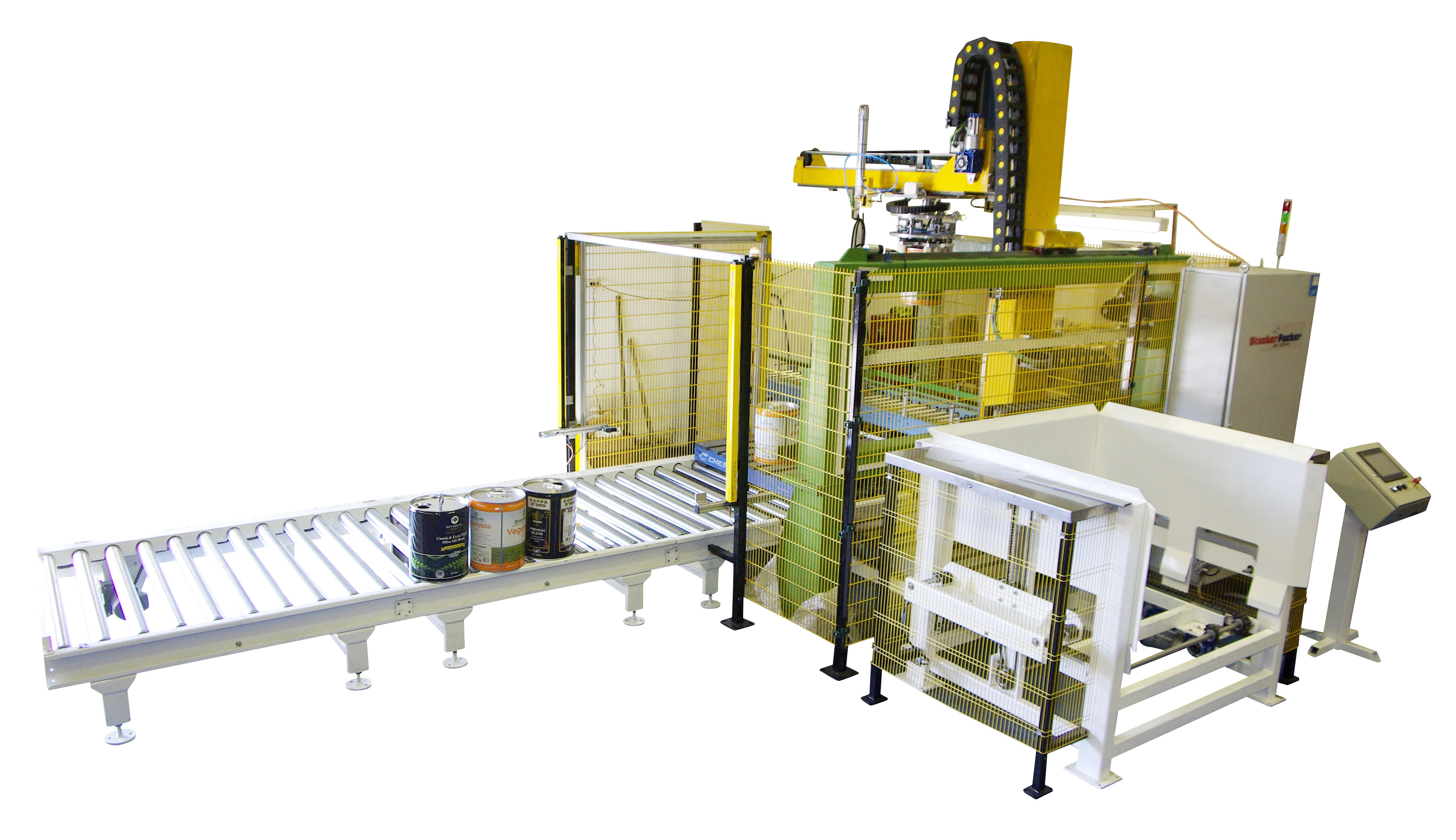 - IOPAK StackerPacker Palletiser