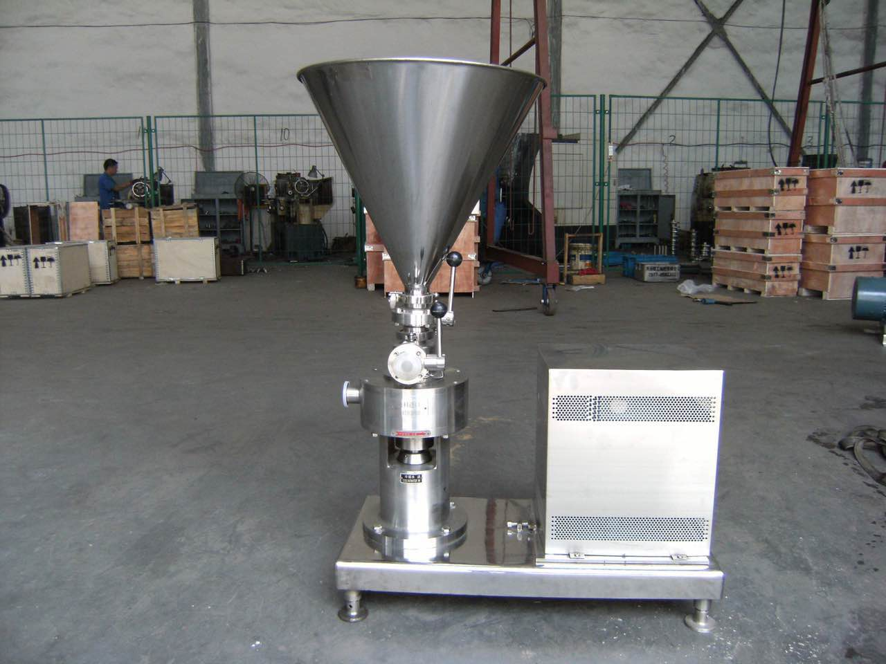 Continuous Powder/Liquid Mixer