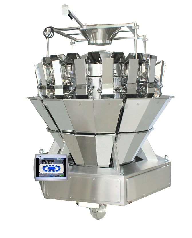 AC-6B14-2B-12X 14 Head Multihead Weigher with 10.4