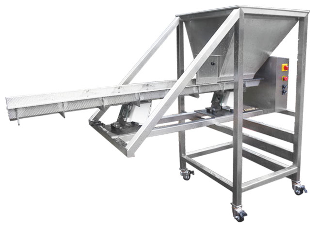 Vibratory Feeder with Hopper