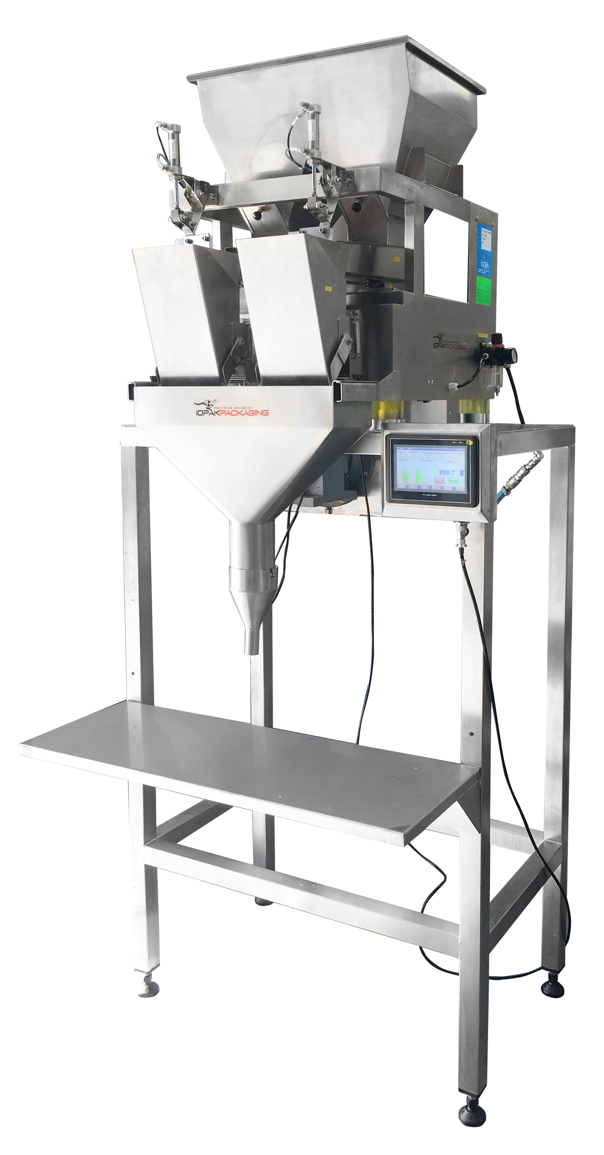AC-7-220 Checkweigher with Twin Arm Reject